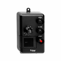 Pulsar Wall Mount Three Button Transmitter - Open/Close/Stop (9 Doors) with Dial