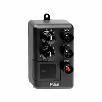 Pulsar Wall Mount Three Button Transmitter - Open/Close/Stop (27 Doors) with Dial