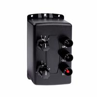 Allstar Wall Mount Three Button Transmitter - Open/Close/Stop (27 Doors) with Dial